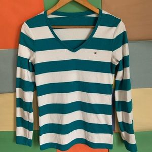 Tommy Hilfiger Striped Long Sleeves Sweater size M
